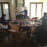 Research planning session at El Coronado.